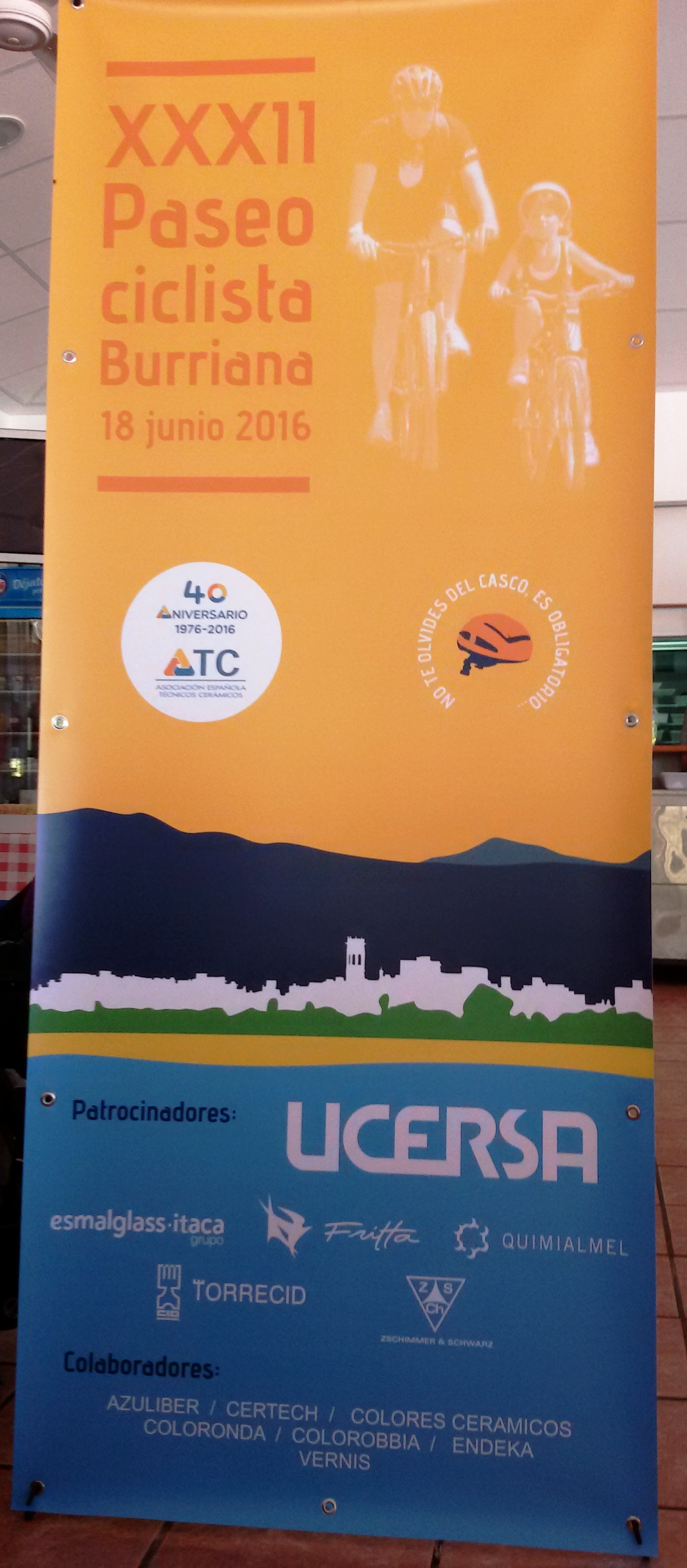 Banderola Paseo Ciclista ATC