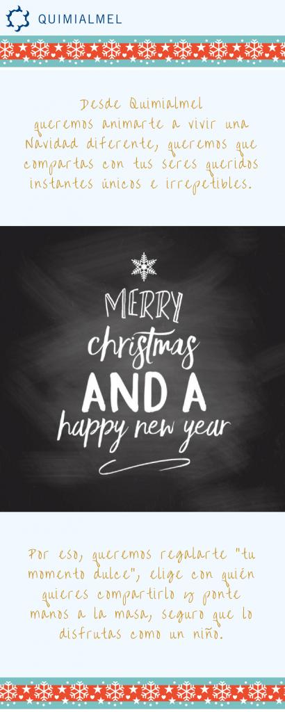 Felicitación Navidad Quimialmel 2016