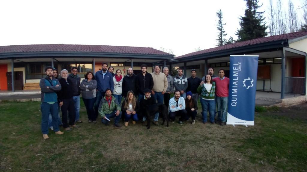 Alumnos I Curso de Inseminación Artificial en Chile