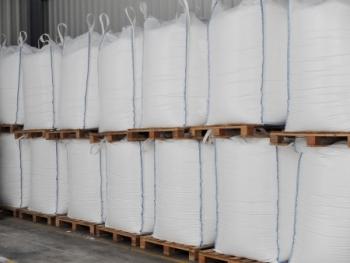 Envasado big bags para bicarbonato sódico en alimentación animal