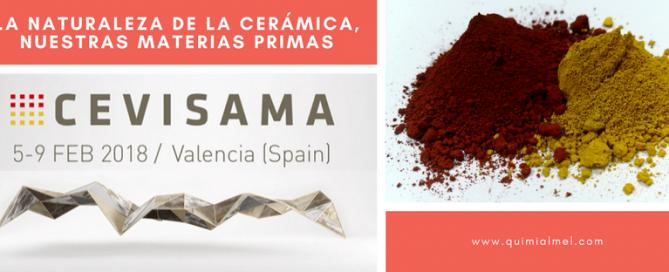 Cerámica y materias primas en Cevisama 2018