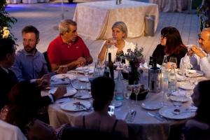 Empleados de Quimialmel Italia disfrutando del 20 Aniversario