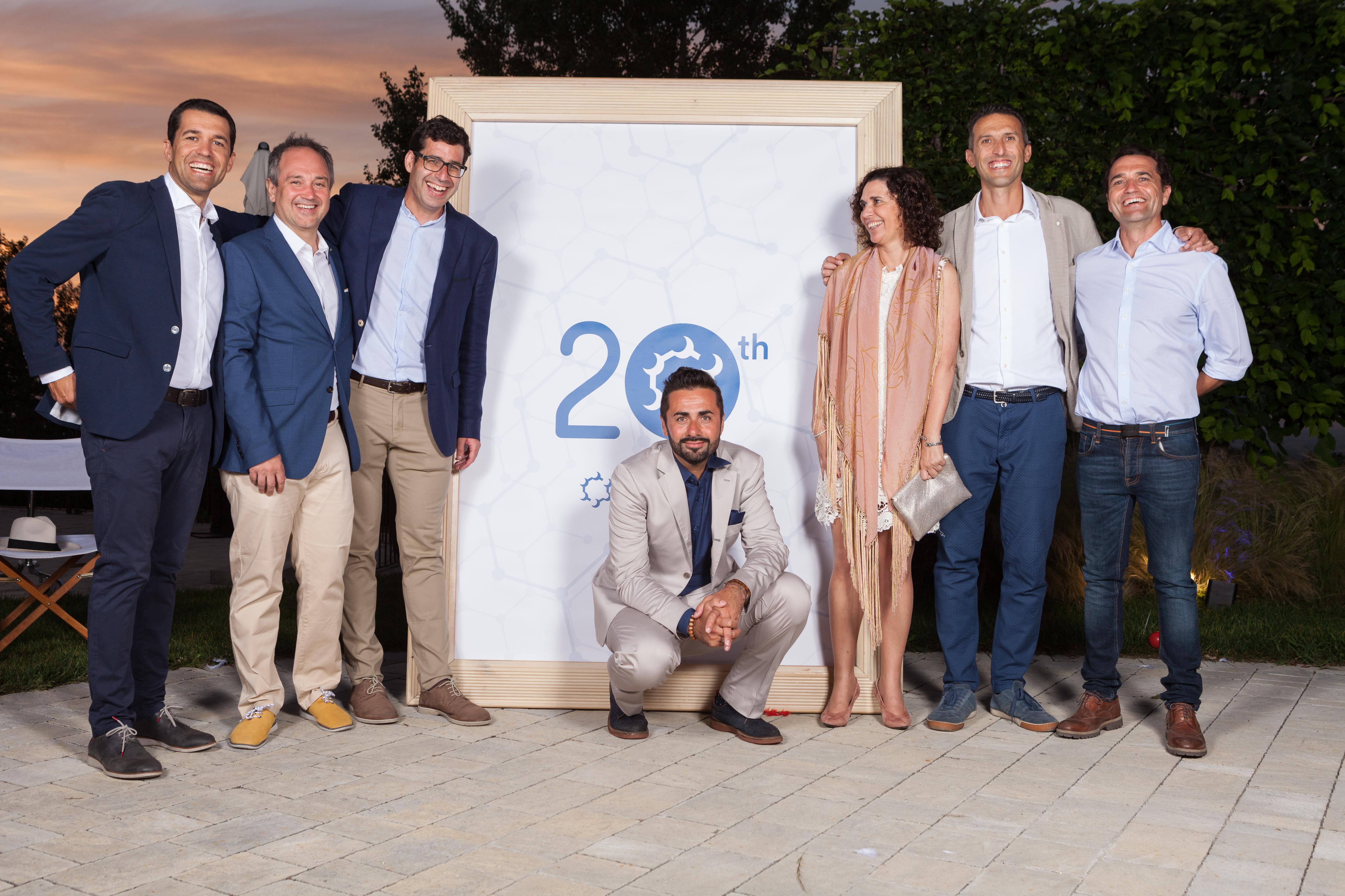 El Consejo de Quimialmel Grupo en la celebración del 20 Aniversario de Quimialmel Italia