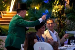 Noche mágica en el 20 Aniversario de Quimialmel Italia