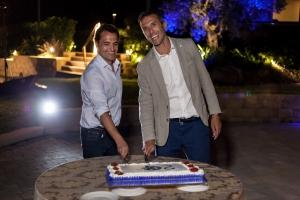 Tarta 20 Aniversario Quimialmel Italia